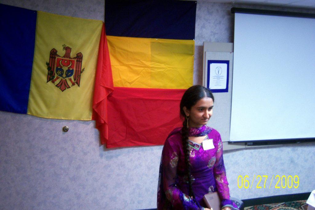 Chambelie Arif-Pakistan- o câștigătoare la concursul de creație