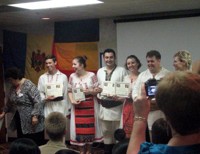 Diplome UNIFERO Dansatorilor Romani Din America
