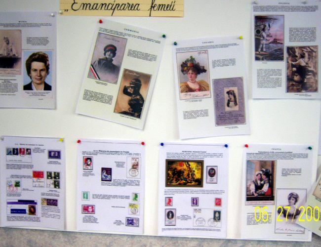 Expo-cartofilie-Emanciparea Femeii (V.Hrustovici)