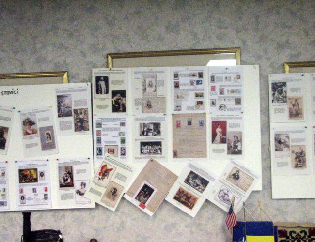 Expoziție-de Filatelie și Cartofilie -Viorica Hrustovici