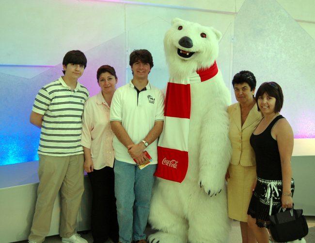 In Vizita La Coca-Cola